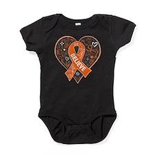Leukemia Believe Baby Bodysuit