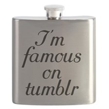 I'm famous on tumblr Flask