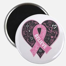 Breast Cancer Believe Magnets