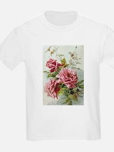 Unique Pink roses T-Shirt