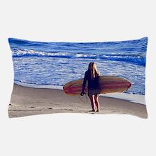 Surfer Girl Pillow Case