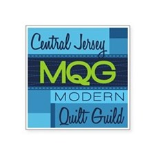 Central Jersey Modern Quilt Guild Logo Sticker