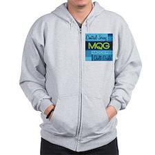 Central Jersey Modern Quilt Guild Logo Zip Hoodie