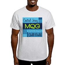 Central Jersey Modern Quilt Guild Logo T-Shirt