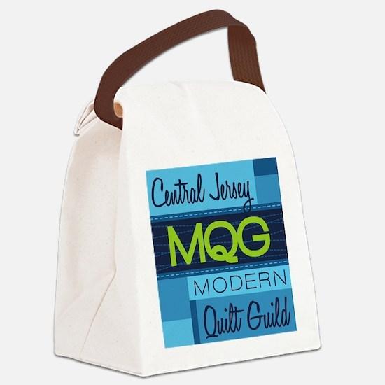 Central Jersey Modern Quilt Guild Canvas Lunch Bag