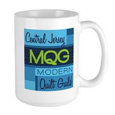 Central Jersey Modern Quilt Guild Logo Mugs