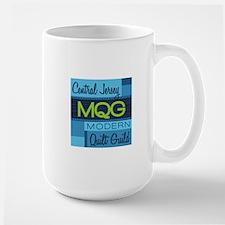 Central Jersey Modern Quilt Guild Logo Mugs