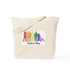 Federal Way diversity Tote Bag