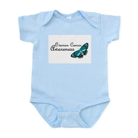 Teal Butterfly 3 (OC) Infant Bodysuit