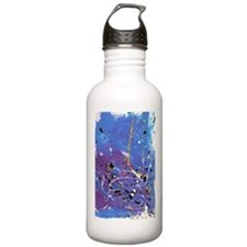 Blue Pollock-Style Stainless Water Bottle 1.0l