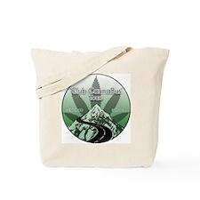Club CannaBus Tours Logo Tote Bag