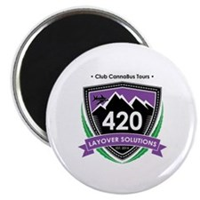 Funny Cannabis Magnet