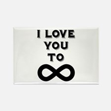 I Love You To Infinity Magnets
