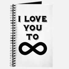 I Love You To Infinity Journal