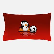 Soccer Penguin Pillow Case