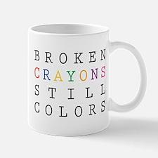 Broken Crayon still colors Mugs