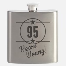95 Years Young Flask