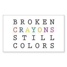 Broken Crayon still colors Decal