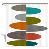 Eames inspired Shower Curtains