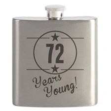 72 Years Young Flask