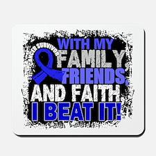 Anal Cancer Survivor FamilyFriendsFaith Mousepad