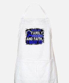 Colon Cancer Survivor FamilyFriendsFaith Apron