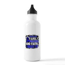 Colon Cancer Survivor Water Bottle