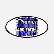 Colon Cancer Survivor FamilyFriendsFaith Patch
