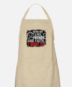 Brain Cancer Survivor FamilyFriendsFaith Apron