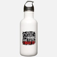 Brain Cancer Survivor Water Bottle