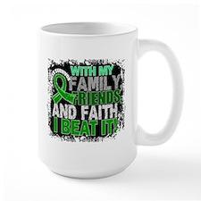 Bile Duct Cancer Survivor FamilyFriends Mug