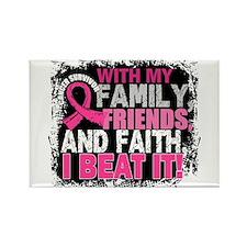 Breast Cancer Survivor FamilyFrie Rectangle Magnet