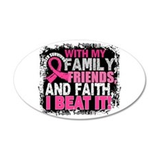 Breast Cancer Survivor Famil Wall Sticker