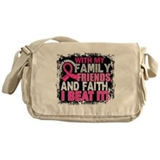 Breast Cancer Survivor FamilyFriends Messenger Bag
