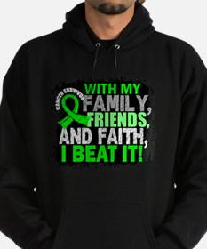 NH Lymphoma Survivor FamilyFriendsFa Hoodie (dark)