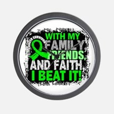 NH Lymphoma Survivor FamilyFriendsFaith Wall Clock