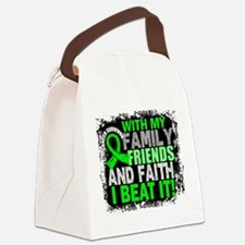 NH Lymphoma Survivor FamilyFriend Canvas Lunch Bag