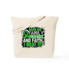 NH Lymphoma Survivor FamilyFriendsFaith Tote Bag