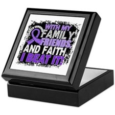 Hodgkin's Lymphoma Survivor FamilyFri Keepsake Box