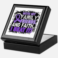 Hodgkin's Lymphoma Survivor FamilyFri Keepsake Box