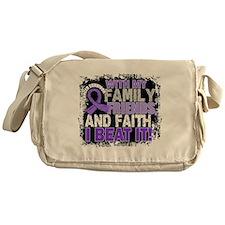 Hodgkin's Lymphoma Survivor FamilyFr Messenger Bag