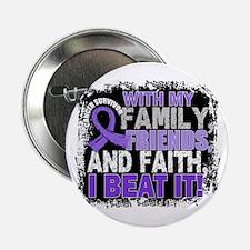 """Hodgkin's Disease Survivor FamilyFrie 2.25"""" Button"""