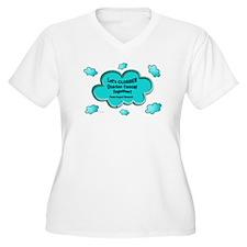 Clobber Ovarian Cancer T-Shirt