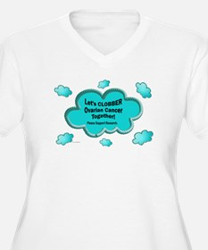Clobber Ovarian Cancer T-Shirt