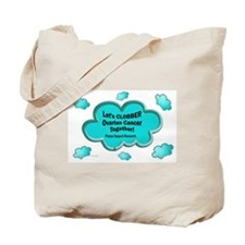 Clobber Ovarian Cancer Tote Bag