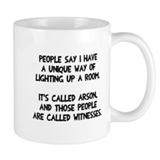 Lighting up a room Mug