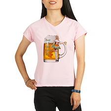 German Beer Girl Performance Dry T-Shirt