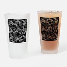 Dragonfly Night Flit Drinking Glass