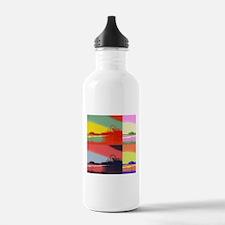 Santa Monica Pier Pop Water Bottle