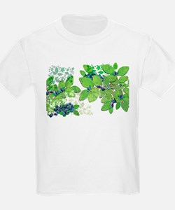 Blueberries from Nova Scotia T-Shirt